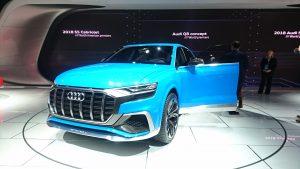 Audi Q8, viitorul oponent al lui BMW X6 și Mercedes GLE