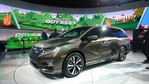 A cincea generație a monovolumului Honda Odyssey