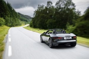 Jaguar F Type 2.0 - rear view
