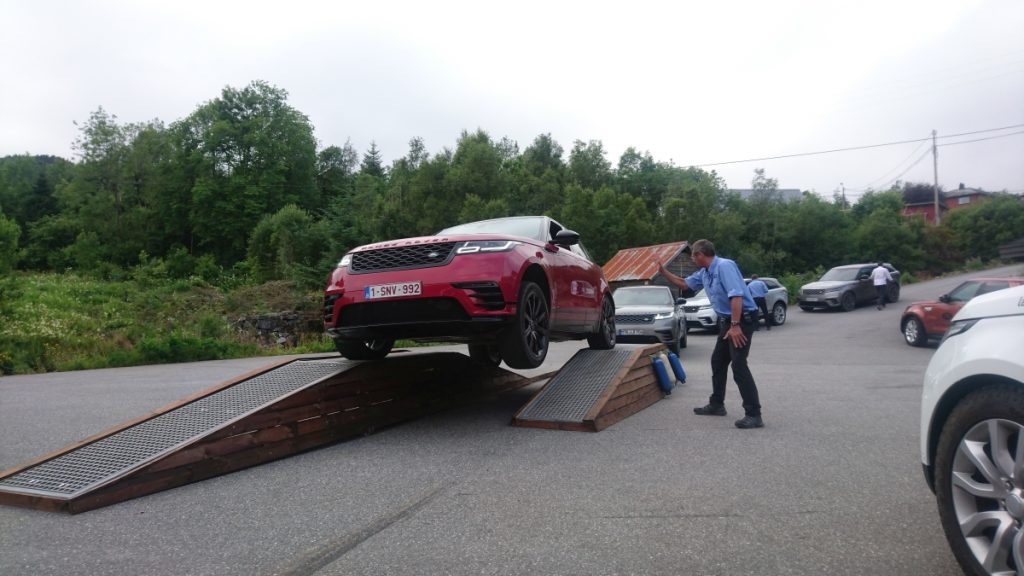 Range Rover Velar test drive