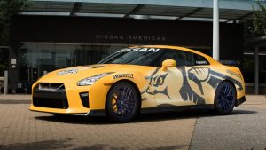 In a press conference today attended by Mayor Megan Barry, team executives and players, Nissan announced that it has donated this very special 2017 GT-R supercar to the Nashville Predators Foundation, which supports a variety of local Nashville charities. The ,990 GT-R Premium model is custom-painted in Preds' official colors and graphics. The special Nissan GT-R will be the main attraction in an upcoming Predators Foundation fundraising auction that was also announced today.